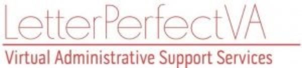 Letterperfect VA Virtual Administrative Support Services