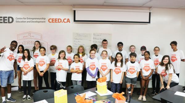 CEED's Juniorpreneur Camp Success
