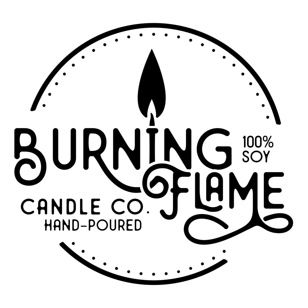 Burning Flame Candle