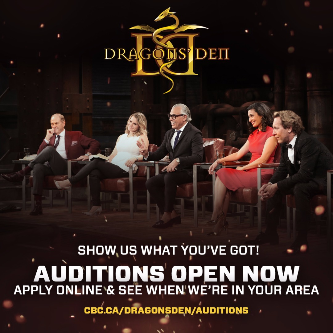Dragons' Den is coming to Halifax!