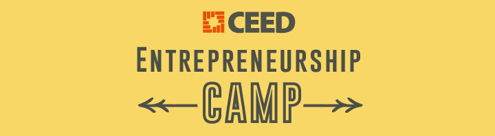CEED's Entrepreneurship Summer Camp Coming Soon!
