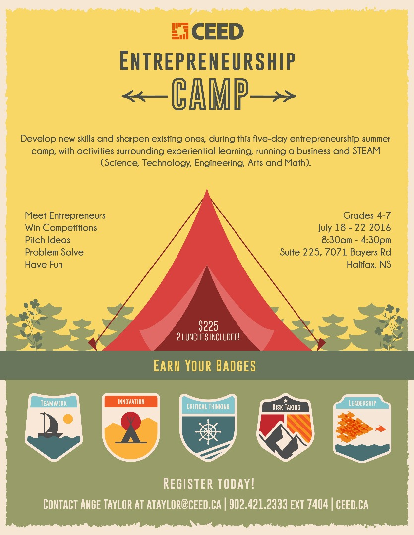 Entrepreneurship Summer Camp!