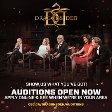 Dragons Den 11 Auditions Poster